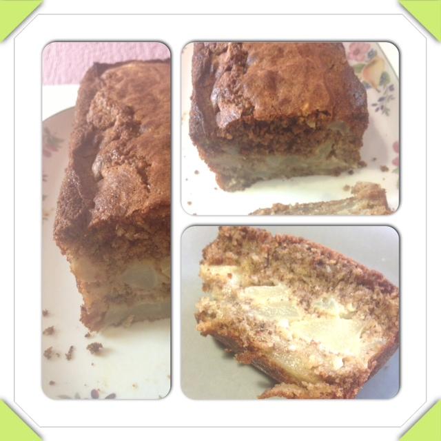 cake choco poire