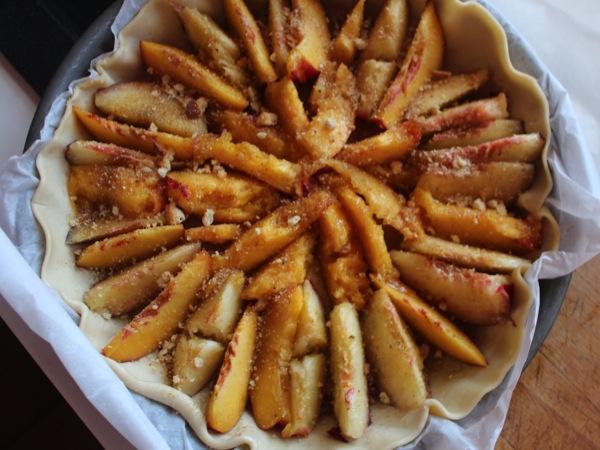 tarte nectarines