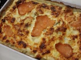 lasagne poisson & carotte