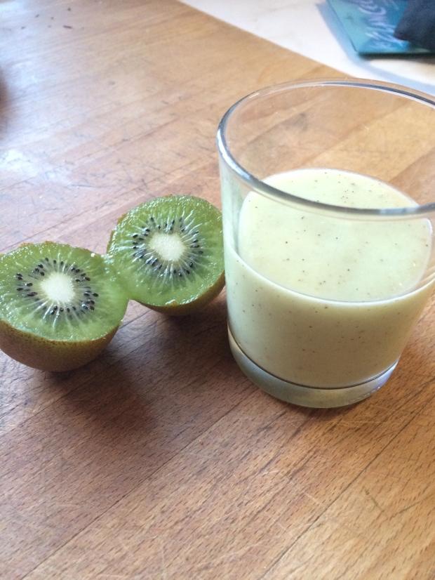 smoothie poire, kiwi, banane