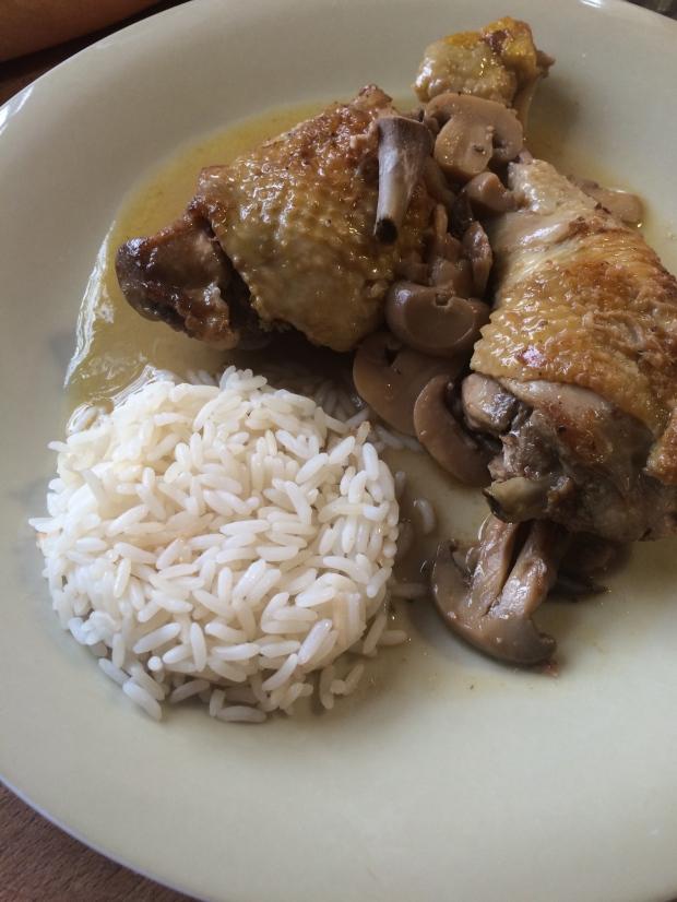 poulet au vinaigre