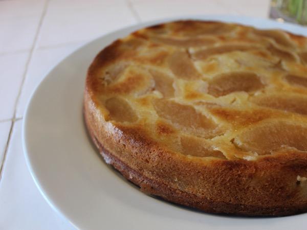 gâteau pommes