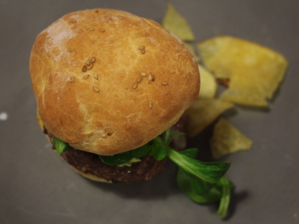 hamburger au fromage