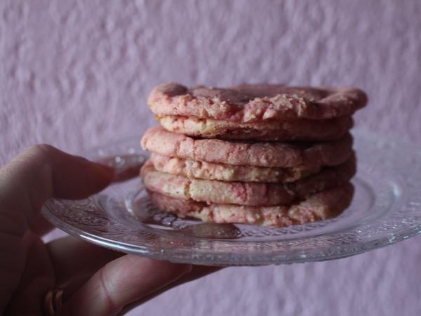 cookies colorés