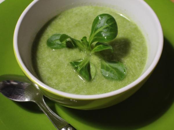 soupe de mâche