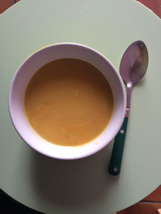 soupe potiron et marron