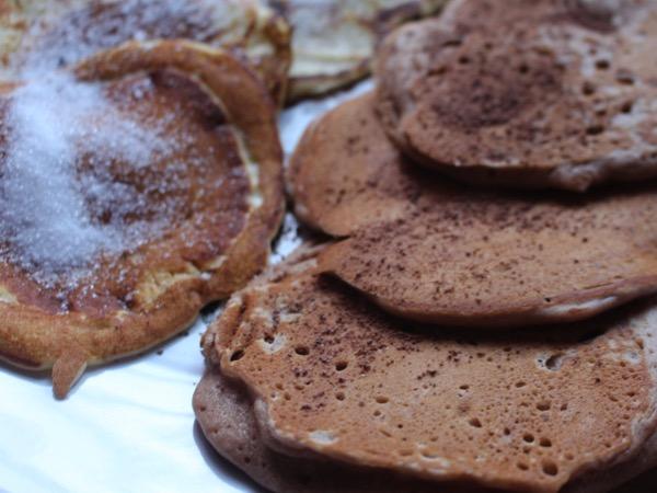 chocolates pancakes
