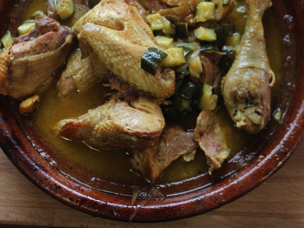 tajine de poulet