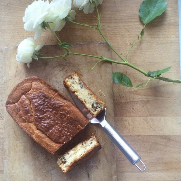 cake au roquefort